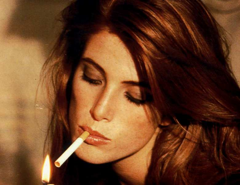 beautiful women smoking cigarettes